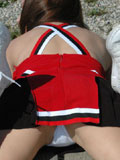 Sexy Cheerleader from Kate's Playground